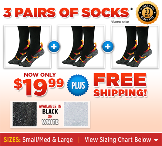 35° Below® Socks™ silver option