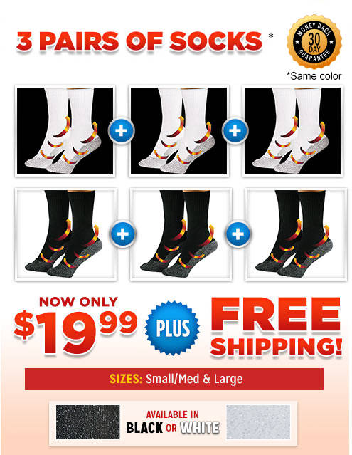Order 35° Below® Socks™ Now!